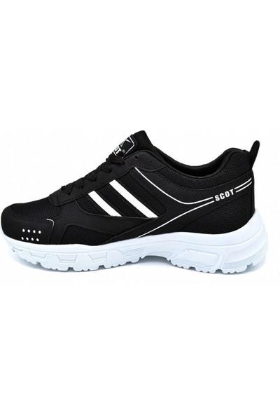 Scot Mrd 2002 Siyah Beyaz Erkek Spor Ayakkabı
