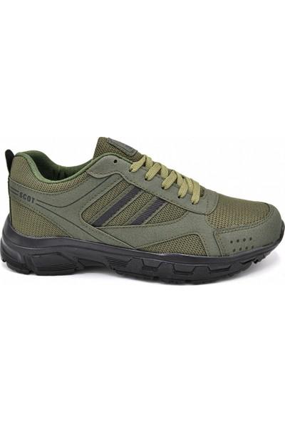 Scot Mrd 2002 Haki Siyah Erkek Spor Ayakkabı