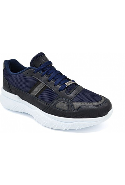 L.A Polo Mrd 105 Lacivert Füme Beyaz Erkek Spor Ayakkabı