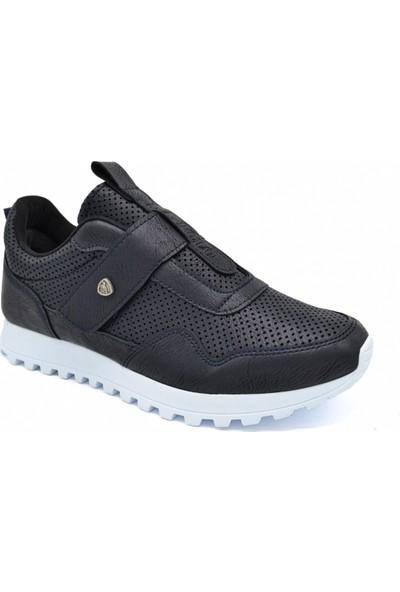L.A Polo Mrd 122 Lacivert Beyaz Erkek Spor Ayakkabı