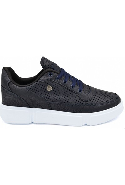 L.A Polo Mrd 093 Lacivert Beyaz Erkek Spor Ayakkabı