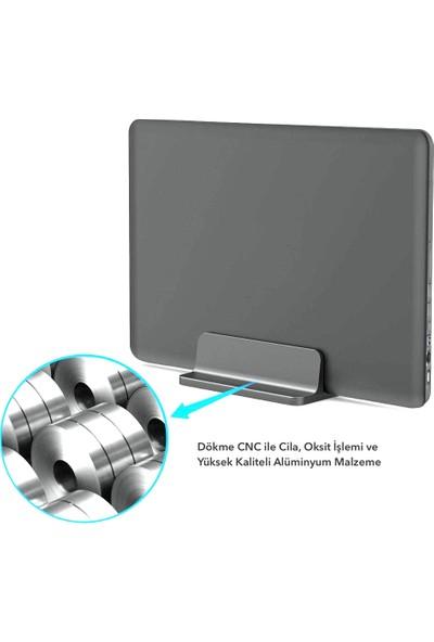 iDock N17 Dikey Genişliği Ayarlı Laptop Macbook Bilgisayar Standı Space Gray