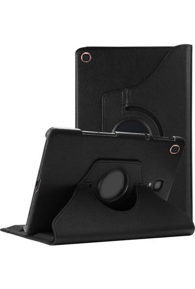 En Güzel Sepetim Samsung Galaxy Tab A 10.1'' T510 Kılıf 360 Rotating Stand Deri Siyah