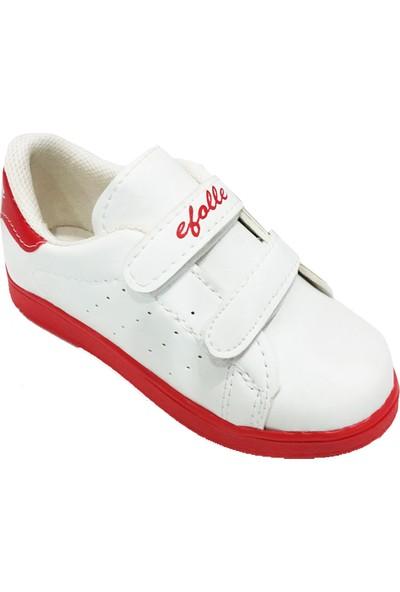 Efolle Patik Trend Kız Çocuk Cırtlı Spor Ayakkabı