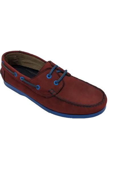 Hisaş 54861 Hakiki Nubuk Deri Erkek Ayakkabı
