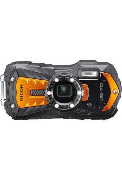 Ricoh Wg-70 Kompakt Dijital Fotoğraf Makinesi Turuncu