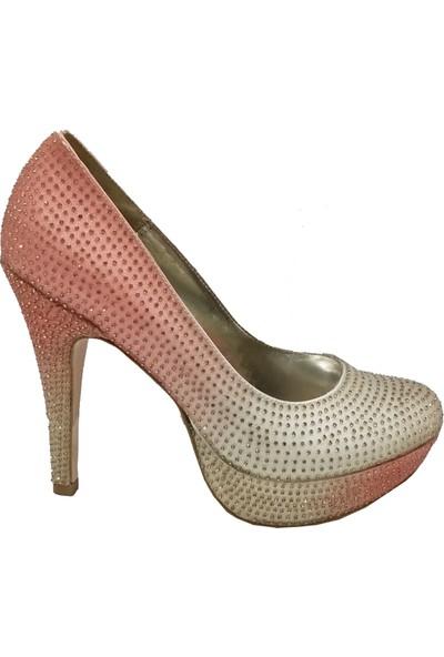 Smilee 5120 Platform Topuklu Abiye Ayakkabı