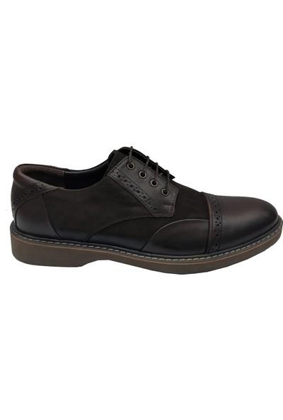 Üçel 2128 Deri Bağcıklı Erkek Ayakkabı