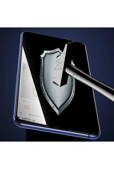 Happyshop OPPO Reno 2Z 5D Privacy Cam Ekran Koruyucu Siyah