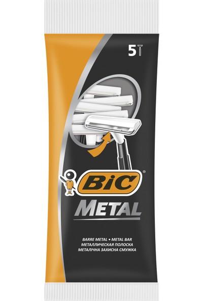 BIC Metal Tıraş Bıçağı 5'li Poşet