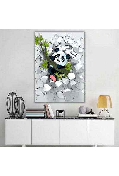 Dijiwork Çocuk Odası Panda Kanvas Tablo