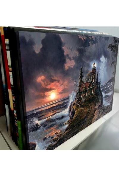Artas Denizde Fırtına Kanvas Tablo