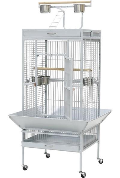 Dayang Papağan Kafesi Ayaklı 61 x 56 x 165 cm