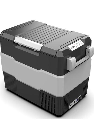 Iceco YCD60S 12/24V 56 lt Outdoor Kompresörlü Oto Buzdolabı