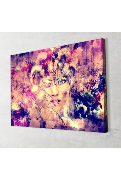 Artas Illüstrasyon Dekoratif Kanvas Tablo