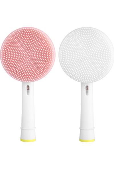 Rotary Titreşimli Hijyenik Ikili Yüz Temizleme Fırçası