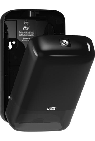 Tork | 556008 Katlamalı Tuvalet Kağıdı Dispenseri Siyah