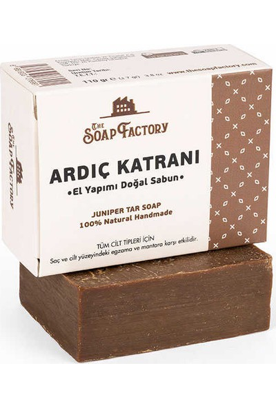 The Soap Factory El Yapımı Bitkisel Ardıç Katranı Sabunu 110 gr
