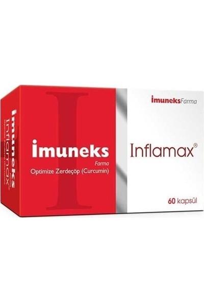 İmuneks Inflamax Optimize Zerdeçöp Curcumin 60 Kapsül
