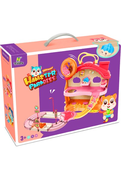 Başel Hamster Home Set