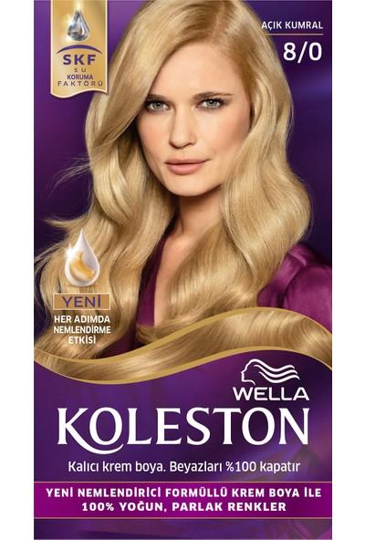 Wella Koleston Set Saç Boyası 8/0 Açık Kumral