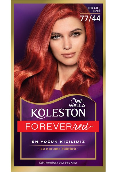 Wella Koleston Set Saç Boyası Özel Kızıllar Serisi 77/44 Kor Ateşi Kızılı
