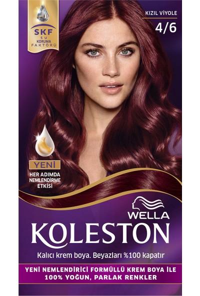 Wella Koleston Set Saç Boyası 4/6 Kızıl Viyole