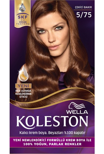 Wella Koleston Set Saç Boyası 5/75 Çekici Bakır