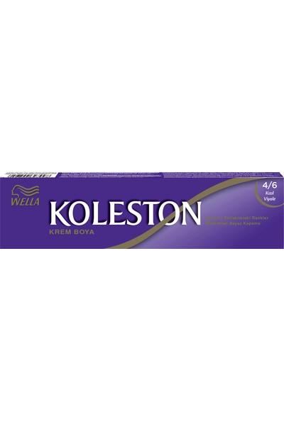 Koleston Tüp Boya 4-6 Kızıl Viyole + Sıvı + Eldiven