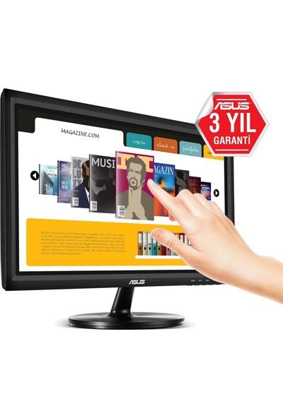 "Asus VT168H 15.6"" 10ms (HDMI+VGA) 10 Parmak Dokunmatik Monitor"