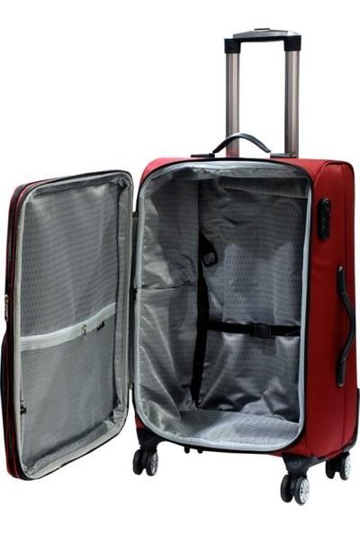 Mover 4 Teker Kumaş Üçlü Valiz Bavul Seti