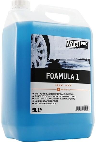 Valet Pro Foamula 1 Ph Nötr Yıkama Köpüğü 5 lt