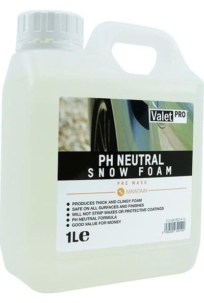 Valet Pro Ph Neutral Snow Foam - Yıkama Köpüğü 1 lt