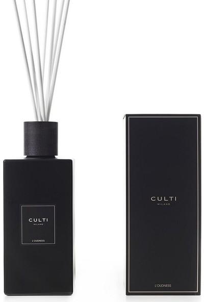Culti Milano Diffuser Black Label L'oudness 2700 ml - Çubuklu Oda Kokusu