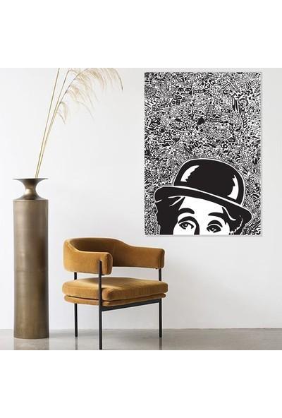 Dab Dabs Charlie Chaplin 70X100
