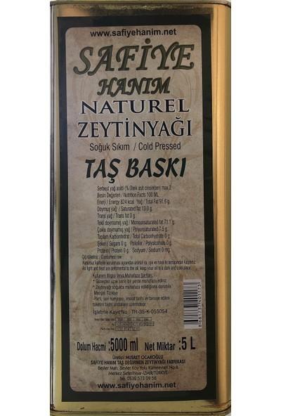 Safiye Hanım Taş Değirmen Zeytinyağı 2'li 5 + 5 lt Naturel Zeytinyağı