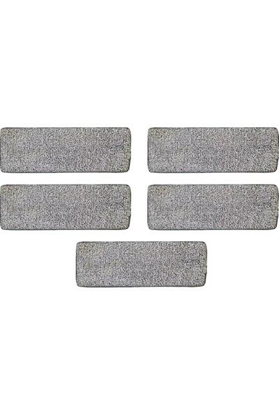 Zambak 5'li Mikrofiber Yedek Tablet Mop Başlığı Bezi