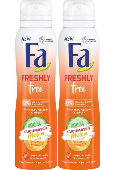 Fa Freshly Free Salatalık & Kavun Deosprey x 2 Adet