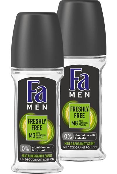 Fa Freshly Free Nane & Bergamot Roll-On x 2 Adet