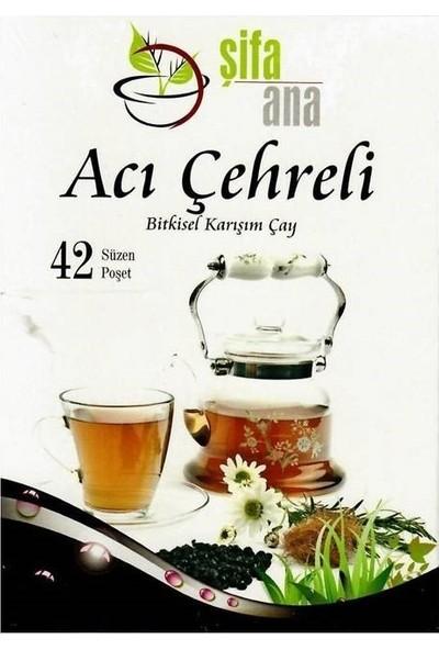 Şifa Ana Acı Çehreli Bitkisel Karışım Çay 42 Adet Poşet