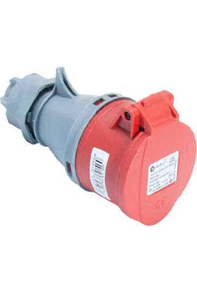 Tplast Tplast Cee-5X16A/Ip44-Y. Kap.Uzatma Prizi