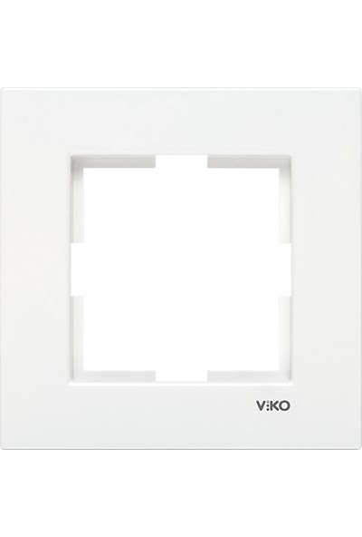 Viko Viko Karre Beyaz Tekli Çerçeve
