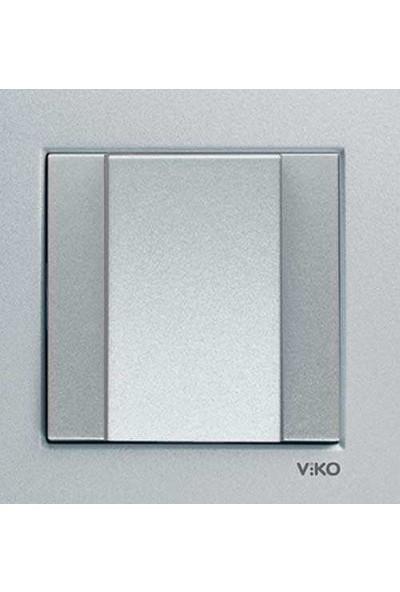 Viko Artline Artline Novella/Trenda Siyah Kablo Çıkış Kapaklı Kapak Mekanizma Hariç