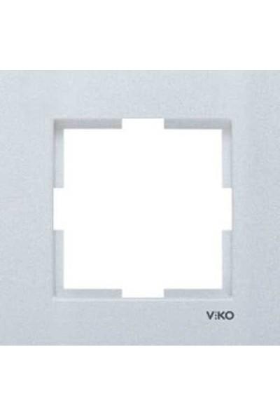 Viko Artline Artline Novella Cam Düz Açık Yeşil Tekli Çerçeve