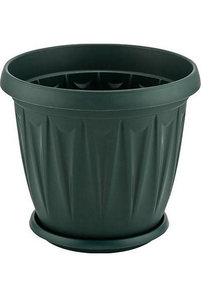 Şenyayla Şenyayla 5703 3,5 Litre Ürgüp Plastik Saksı Yeşil