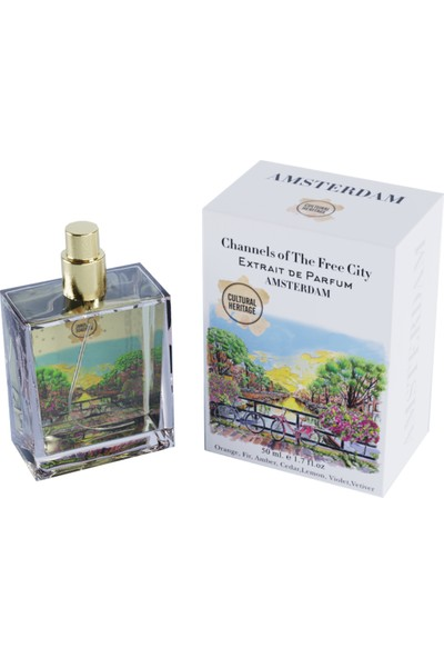 Cultural Heritage Channels Of The Free City Extrait De Parfum Amsterdam