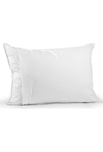 Nart Home Su ve Sıvı Geçirmez Fermuarlı Yastık Koruyucu Yastık Alezi 2 Adet 50x70 cm