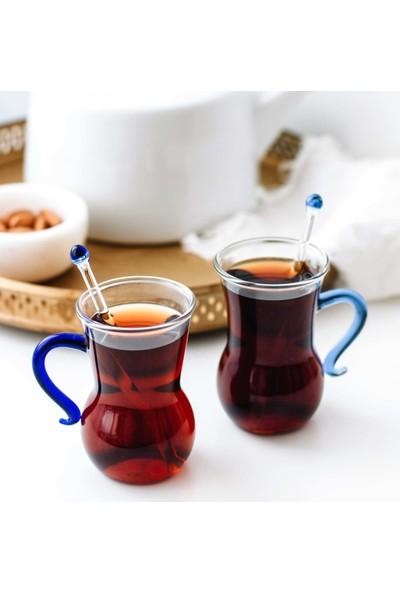 1200 Derece 6'lı Çay Bardağı Seti