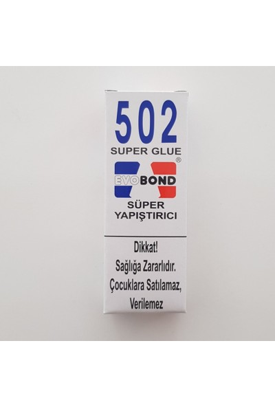 502 Evo Bond 502 Super Glue Süper Yapıştırıcı