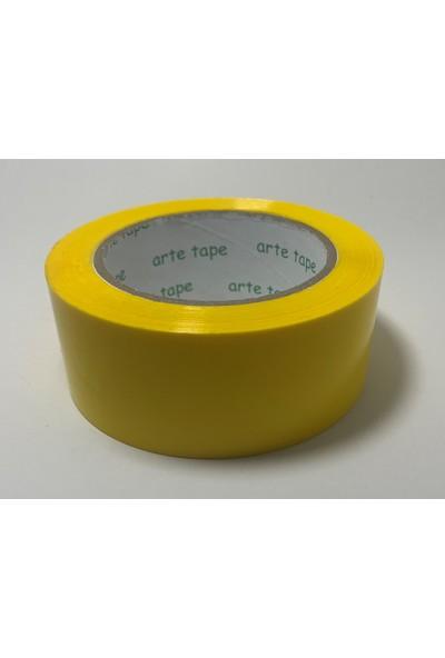 Arte Artetape 45 mm x 100 M Sarı Renkli Koli Bantı